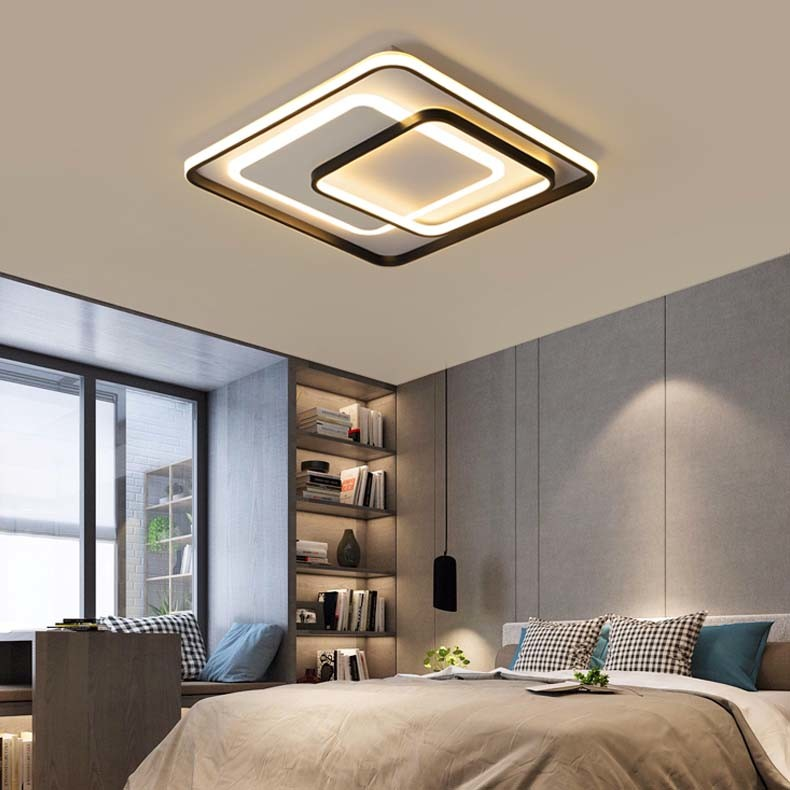Hot Item Decorative Modern Square Led Ceiling Light Lamp For Bedroom Kitchen