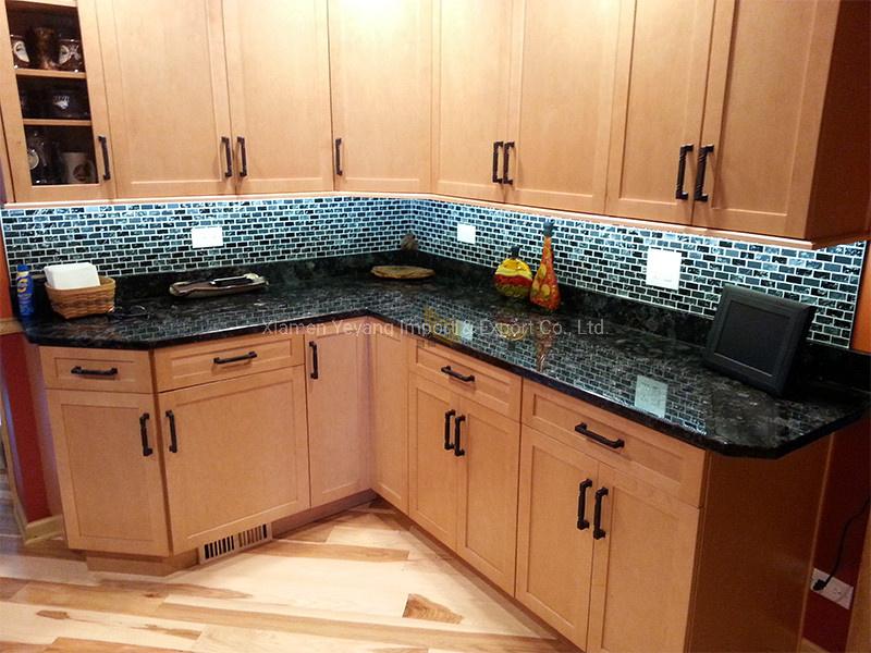 [Hot Item] Dark Granite Volga Blue Granite Countertop Table for  Kitchen/Island/Worktop/Sink