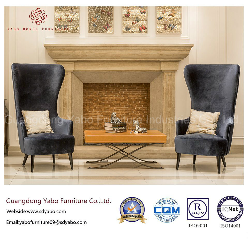 China Modern Hotel Furniture With High Back Chair For Lobby Yb