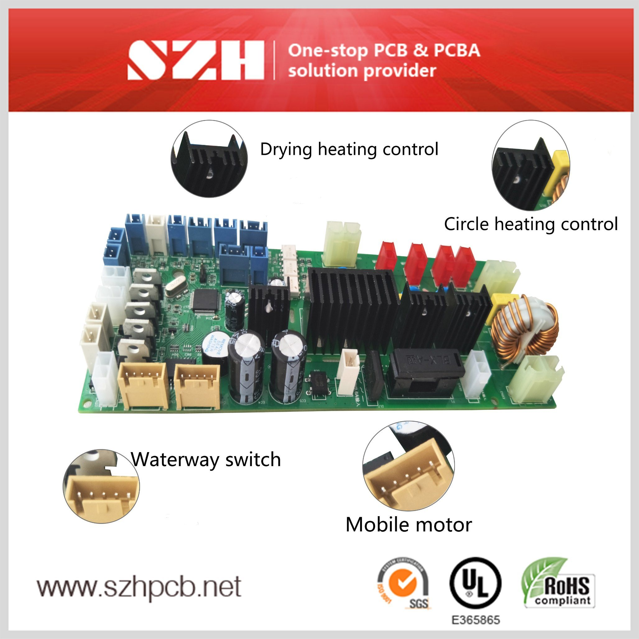 Wholesale Printed Circuit Board Assembly Buy Reliable Pcb Consists Of A High Quality Smart Bidet