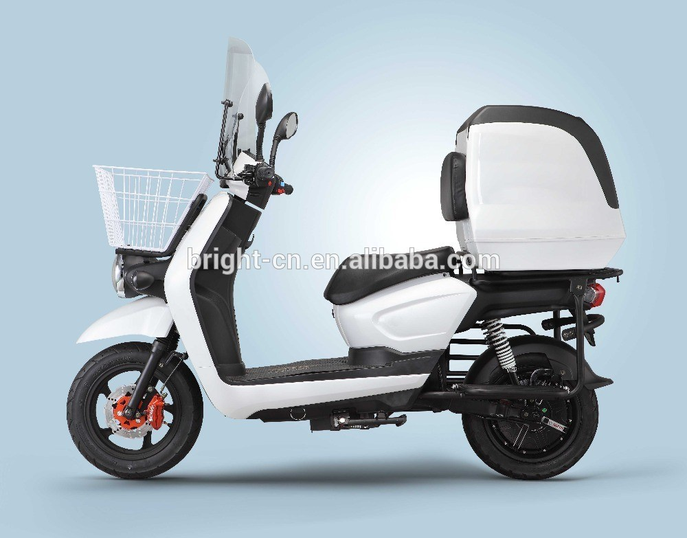 china food delivery electric scooter motorcycle motorbike with cabin