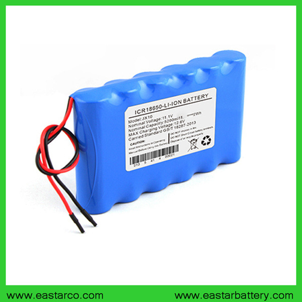 Lithium Ion Battery >> Hot Item Ce Approved 11 1v 5200mah Lithium Ion Battery For Medical Equipment