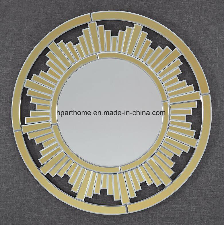 China Wholesale Home Decor High Quality Art Wall Mirror