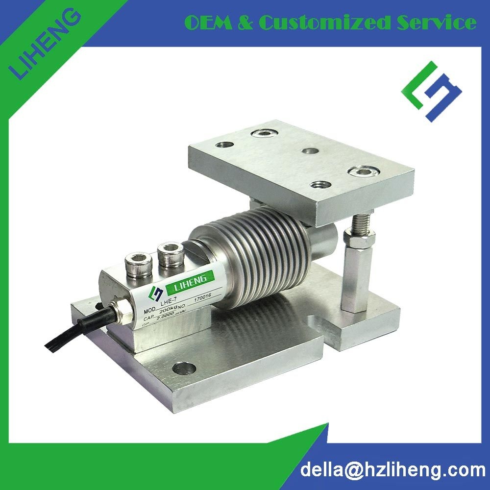 China Lhe 7m Bending Beam Load Cell Mounting Kits China Load Cell Weighing Sensor