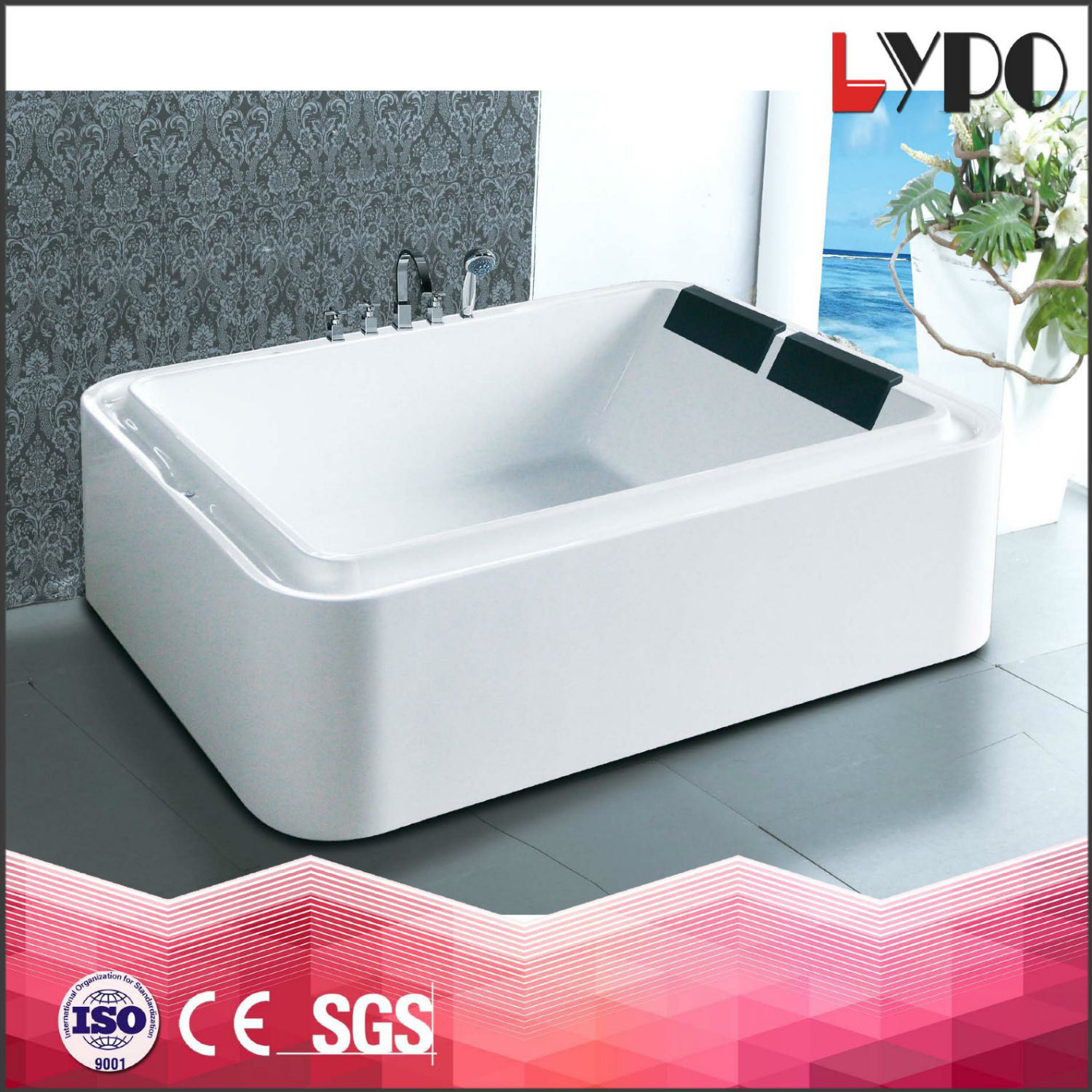 China K-8869A Ideal Standard Bathtubs Prices, Whirlpools with Air ...