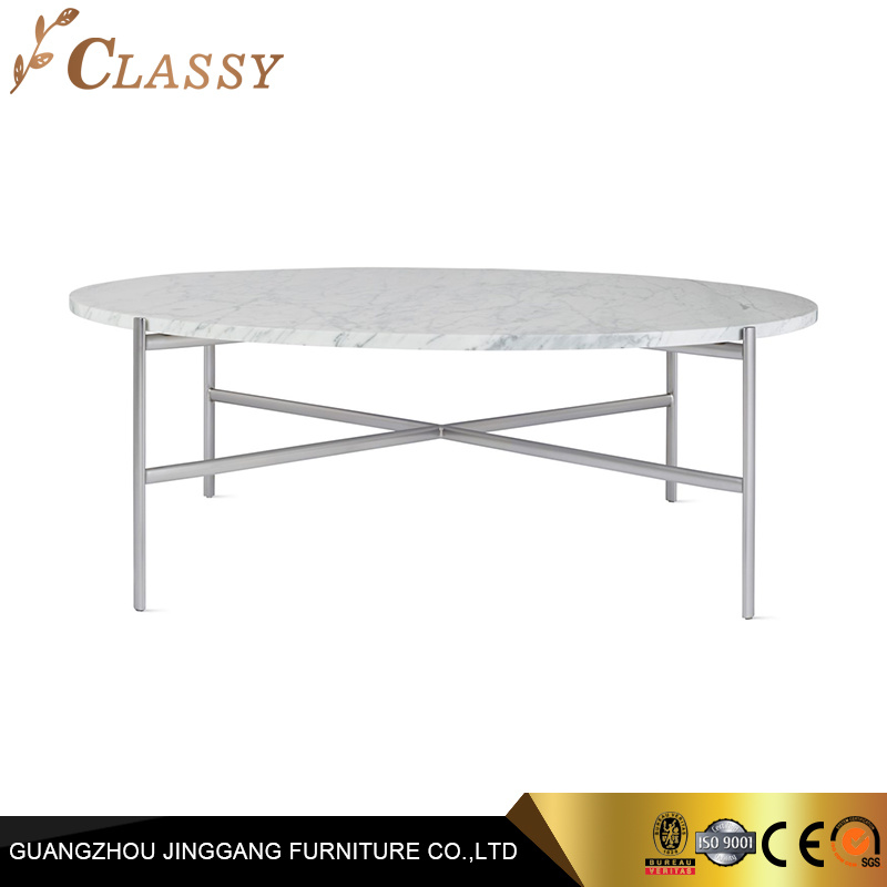 China Stainless Steel Metal Legs Glass Stone Marble Coffee Table For Hotel Home China Side Table Stone Top Coffee Table