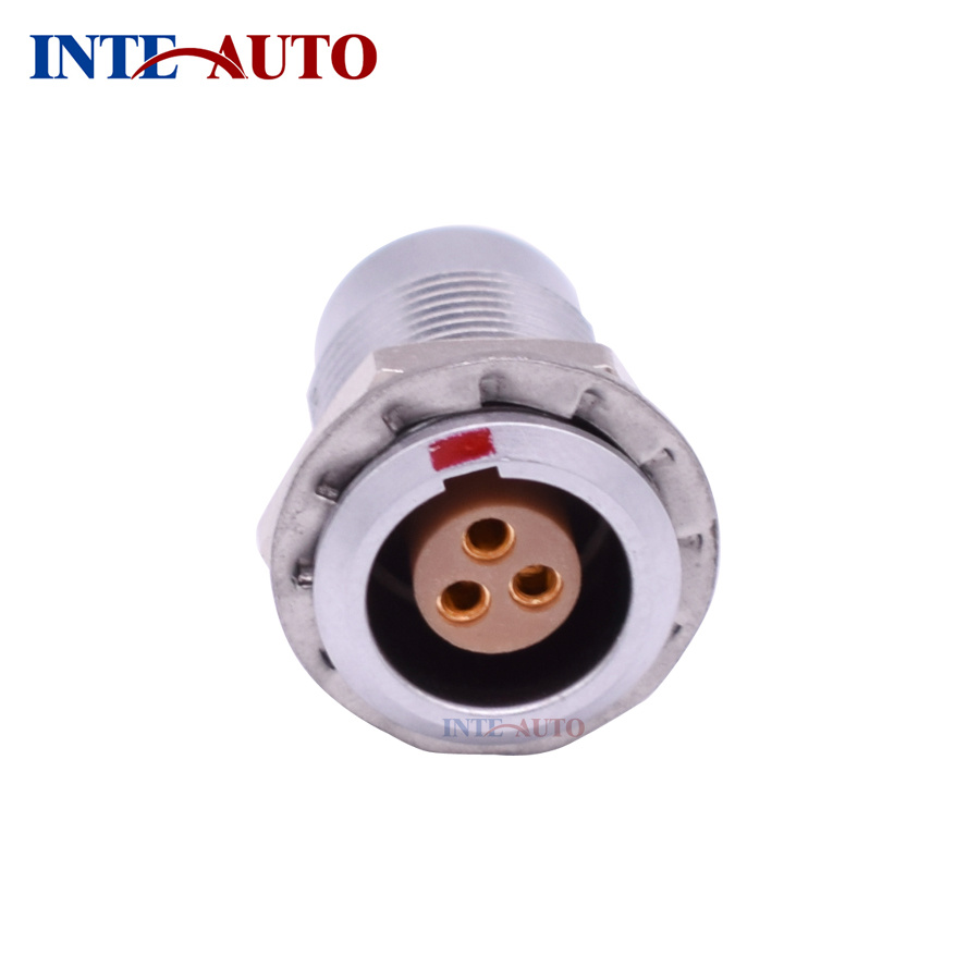 China Egg 1b Automotive Wire Connectors With Female Socket Electrical Wiring Supplies Lemo Connector