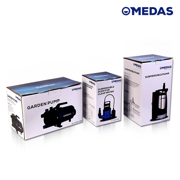 Electric Combination Clean and Dirty Submersible Water Pump with Ce pictures & photos