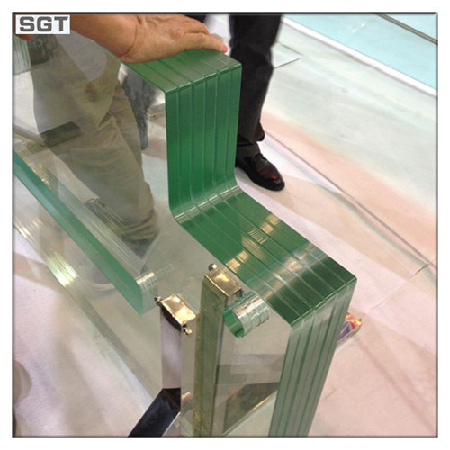 Low Iron/ Ultra Clear Laminated Glass