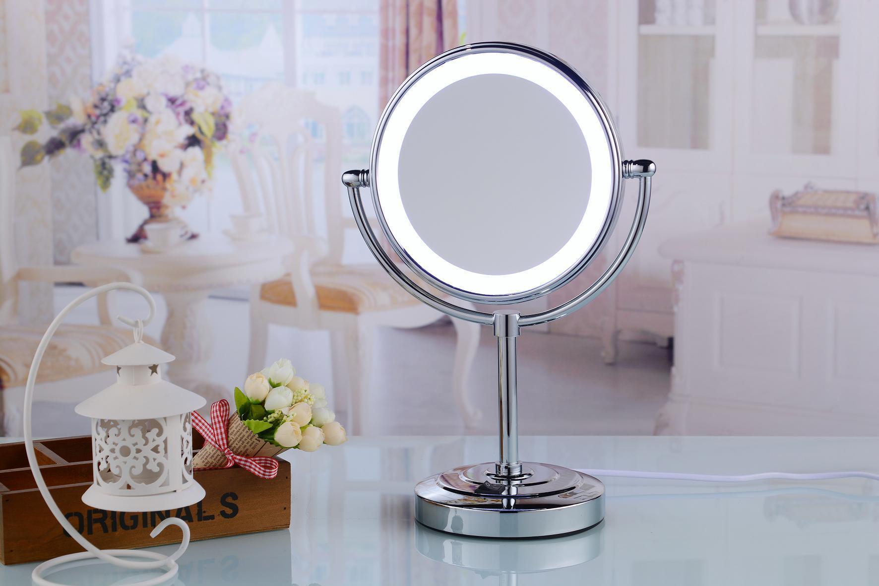 China Vanity Light Mirror Standing Led Mirror Desktop Mirror China Led Mirror And Cosmetic Mirror Price