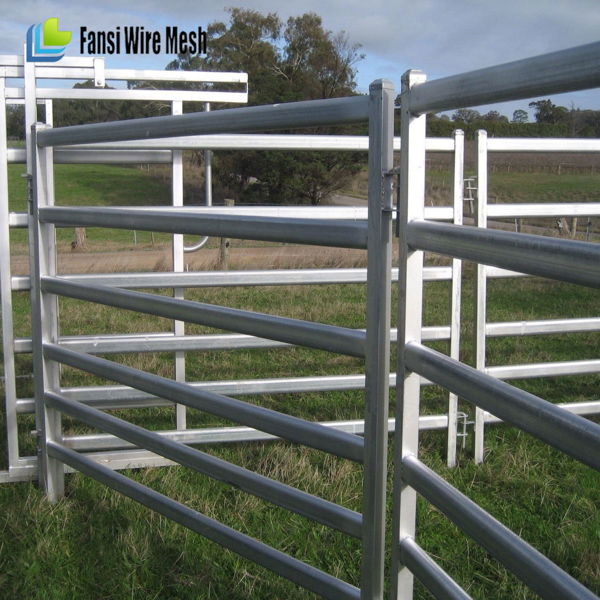 China Hot Dipped Galvanized Cattle Panels - China Cattle Panels ...