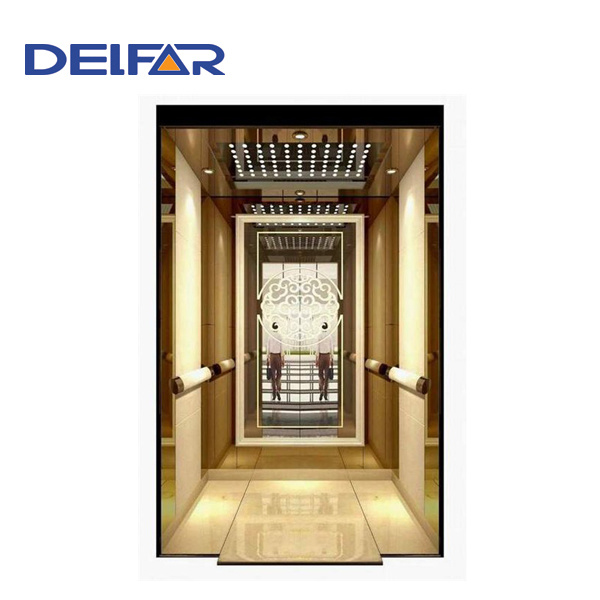 Commercial Building Gearless Passenger Elevator