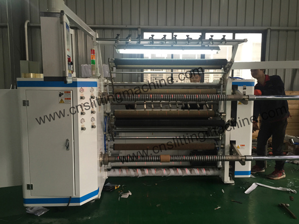 High Speed Slitting Machine for PVC/Pet/BOPP
