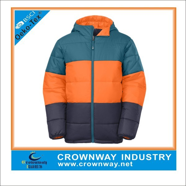 Boys Puffer Snowboard Winter Down Jacket for Sale