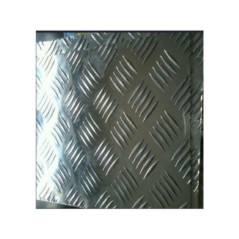 China 5052 Checkered Aluminum Plate Tread Plate Aluminum Floor Sheet