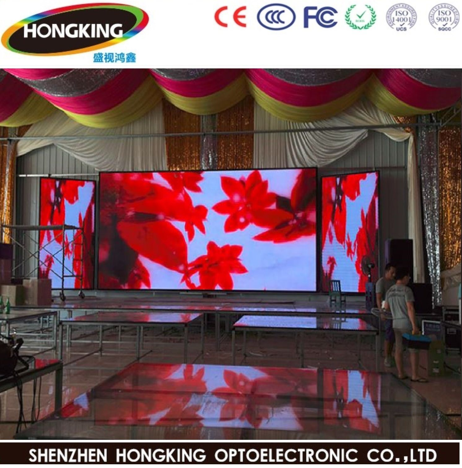 China Indoor P4 Full Color High Definition LED Display ...