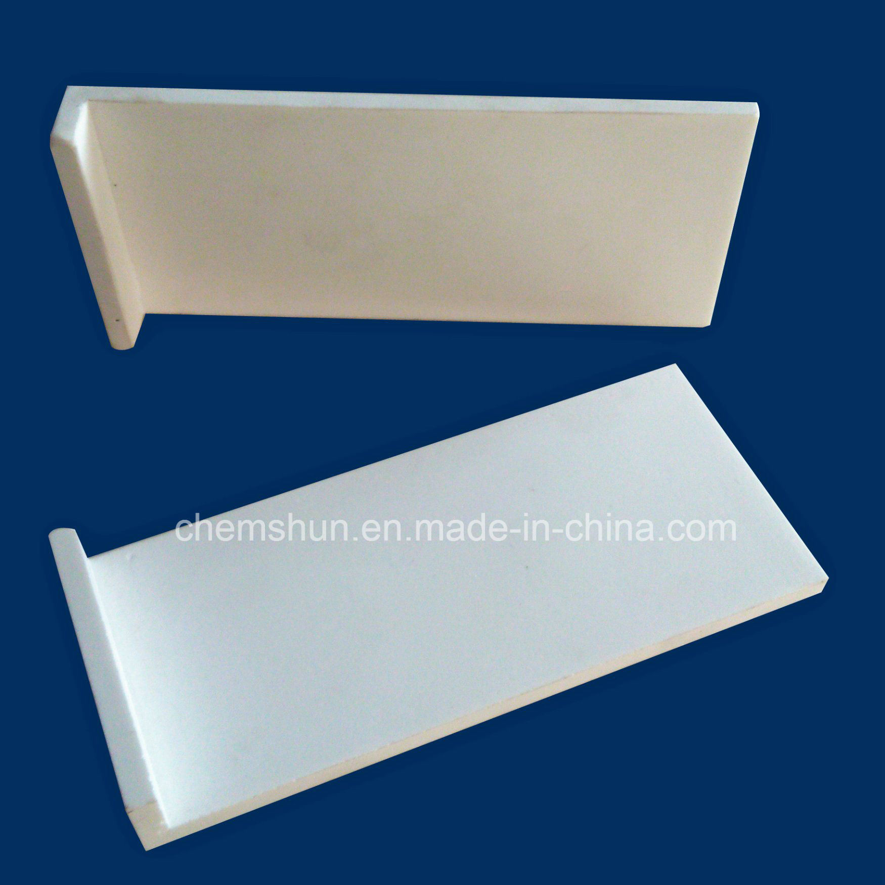 Alumina Wear Industrial Ceramic Blocks (L shape) pictures & photos