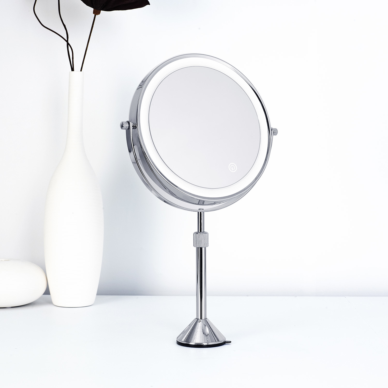 LED Makeup Vanity Mirror Lights with Dimmable Touch Dimmer with ETL Certificate