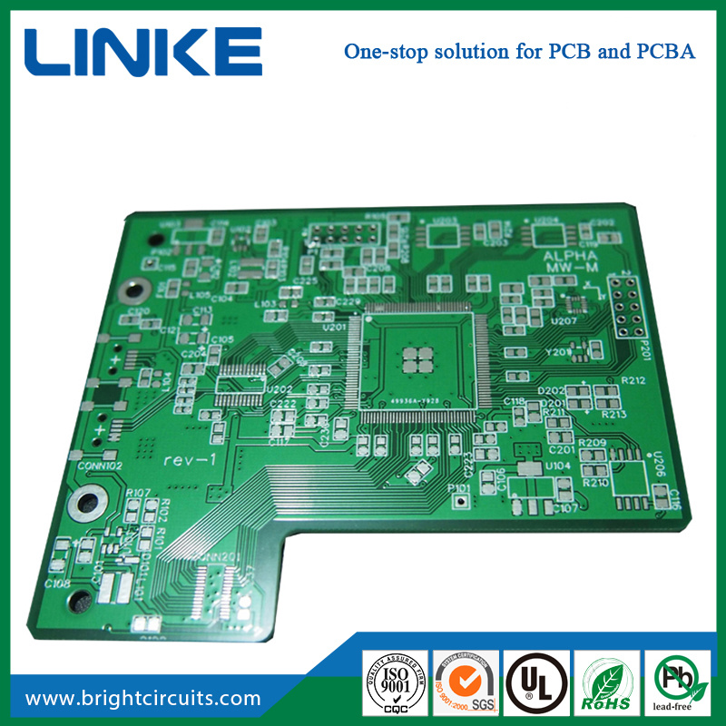 china hot sale electronic multilayer green pcb circuit board design rh brightcircuits en made in china com