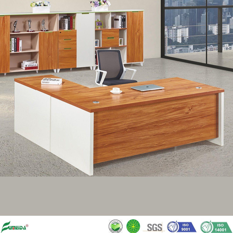 China Modern Wood Mfc Furniture L Shape