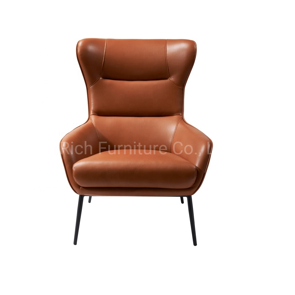 Fantastic Hot Item European Style Living Room Single Relaxing Leather Lounge Chair With Upholstered Sponge Armchair Alphanode Cool Chair Designs And Ideas Alphanodeonline