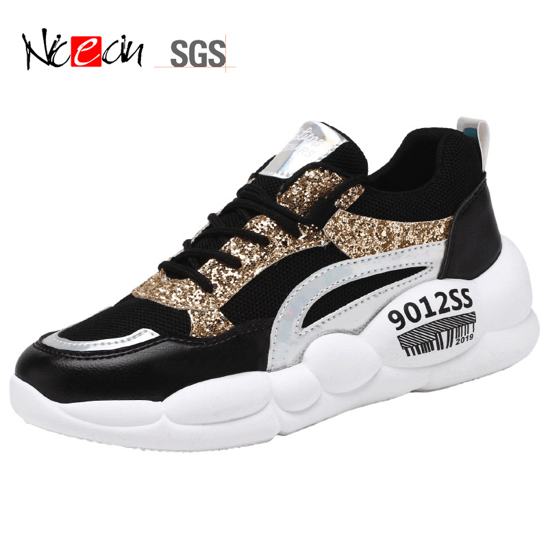 China Sequined Single Shoes Versatile