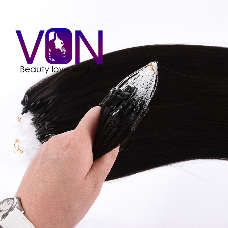 China Ombre Top Quality Brazilian Human Hair Micro Ring Hair