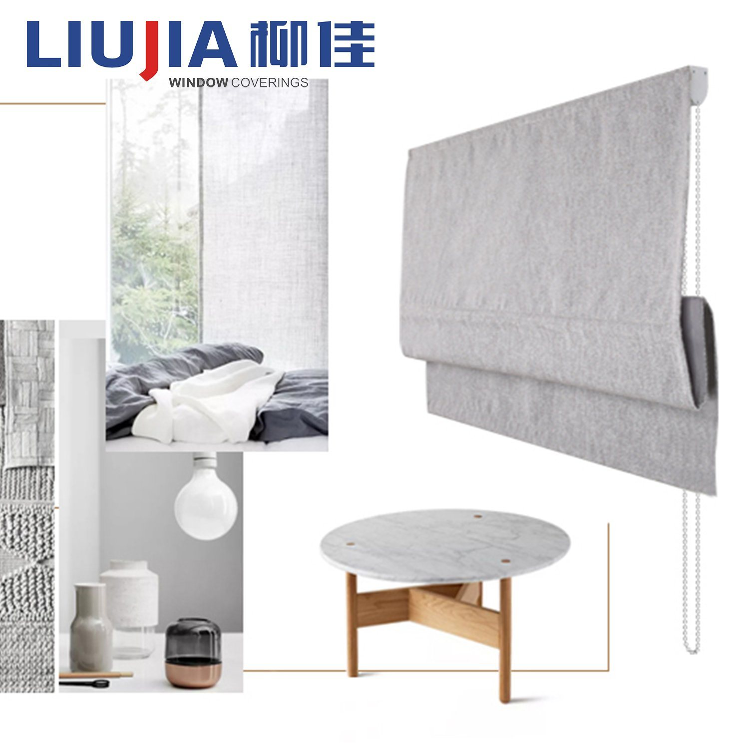 China Cheap Price Promotion Ready Made Roman Blinds China Blind Window Blinds