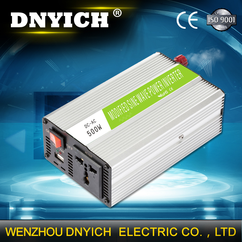 [Hot Item] Single Phase 500watt Solar Power Inverter 12V DC to 220V AC  Circuit Diagram 500W Modified Sine Wave Inverter with USB