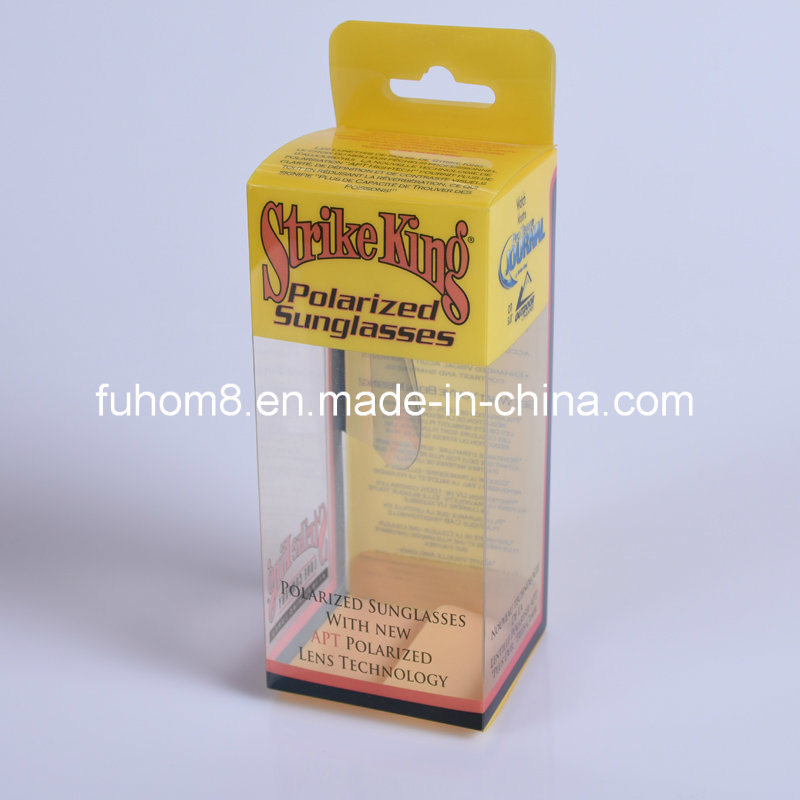 Custom Clear Printing PP/PVC/Pet Plastic Packaging Cosmetic Box pictures & photos