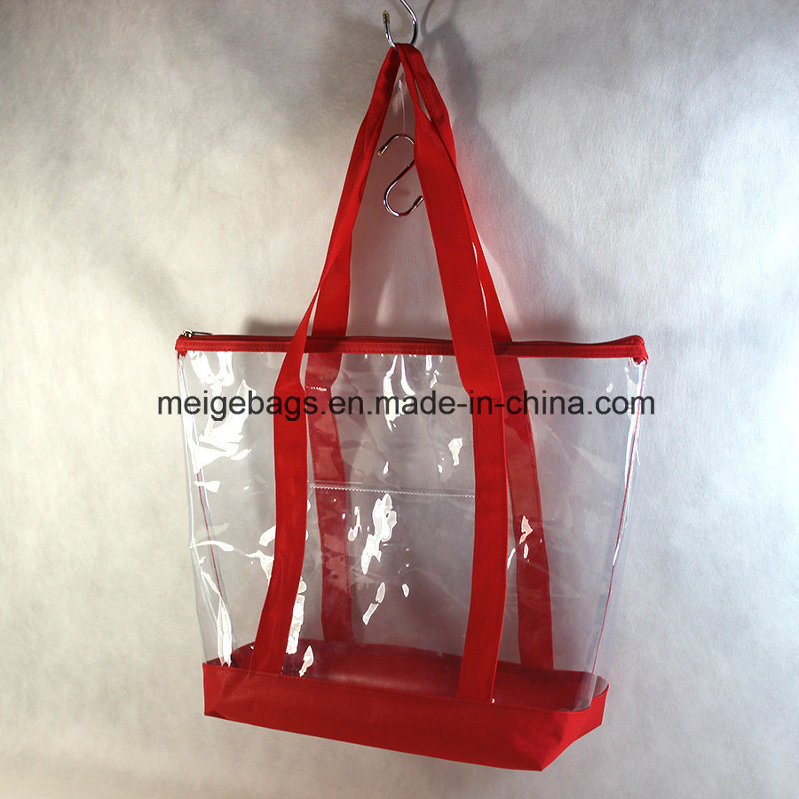Reusable PVC Shopping Bag, with Custom Size and Design