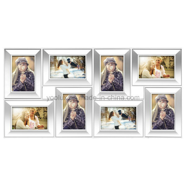 China Walmart Supplier Plastic Multi Openning Picture Collage Photo