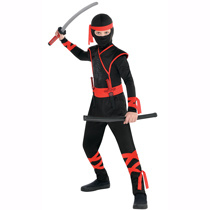 Child Shadow Ninja Costume Superman Cosplay Children/Adult Promotion Costume pictures & photos