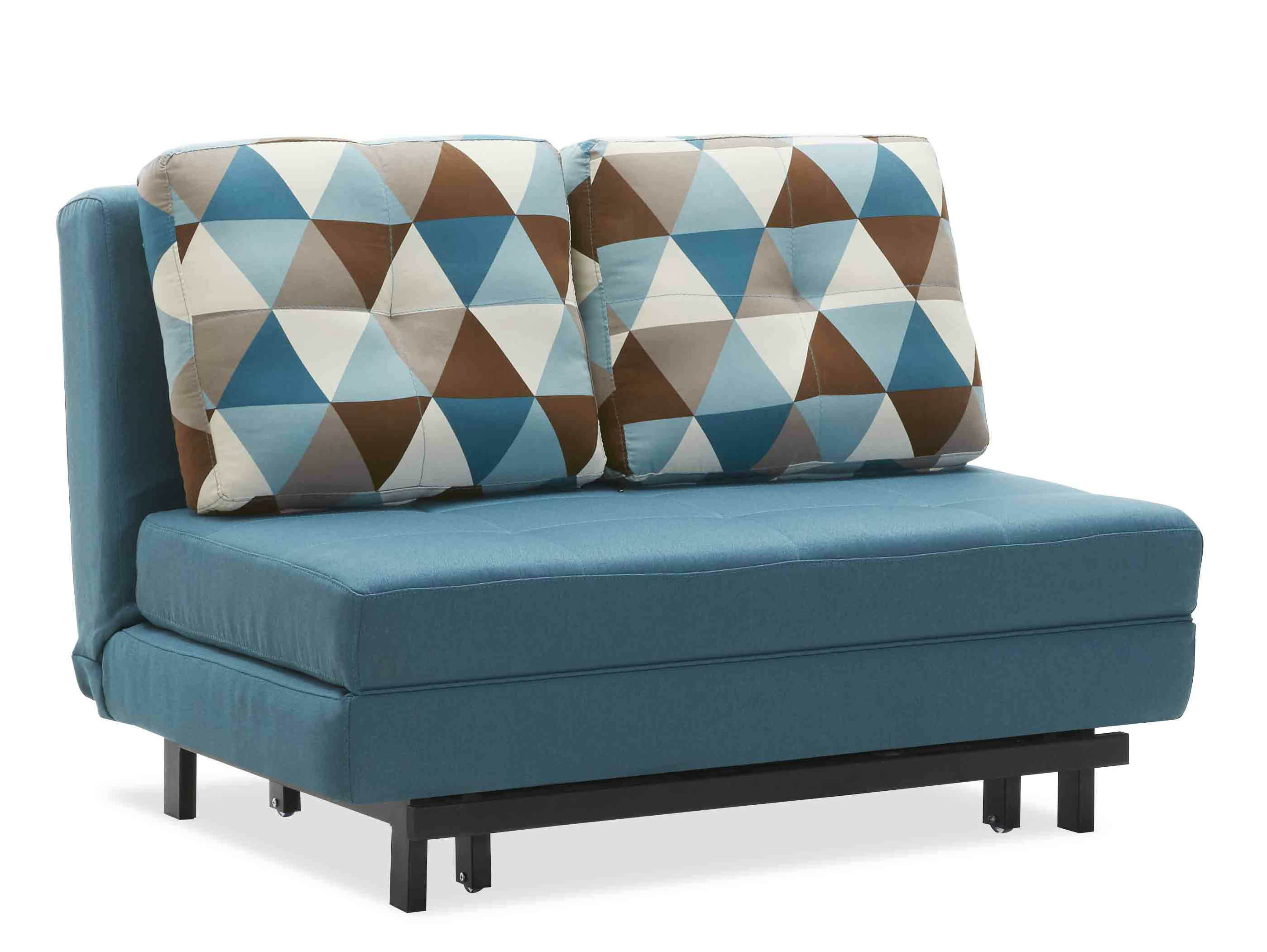 China High Density Fabric Sofa Cum Bed for Small Unit with