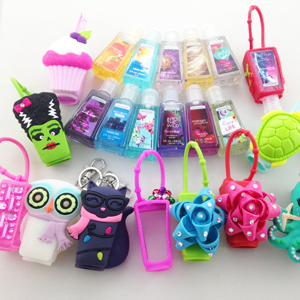 China 30 Ml Portable Washable Silicone Perfume, Cosmetic, Hand Sanitizer Bottle Bottle Holder pictures & photos