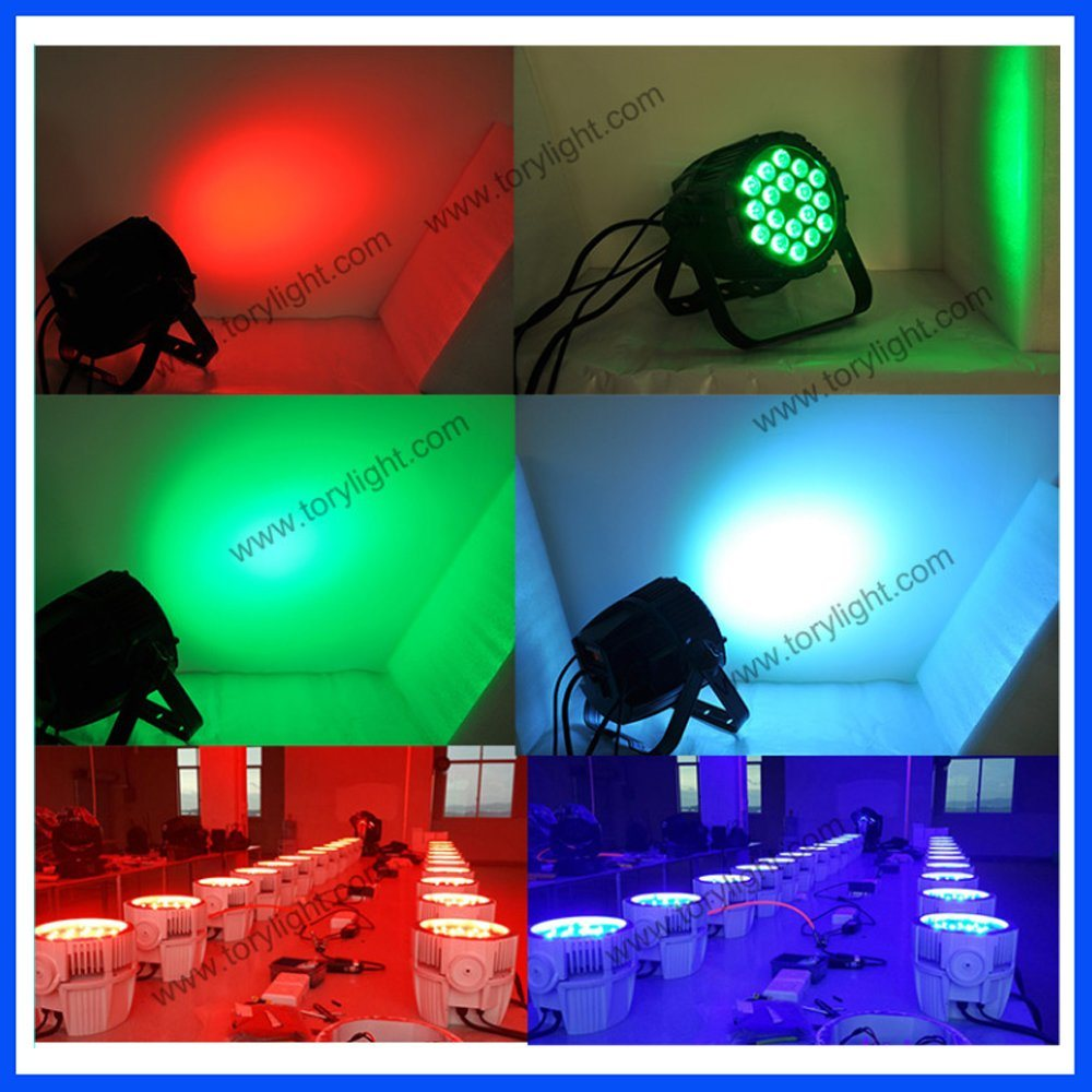 LED Ceiling Light 18*12W Quad Party Club PAR pictures & photos