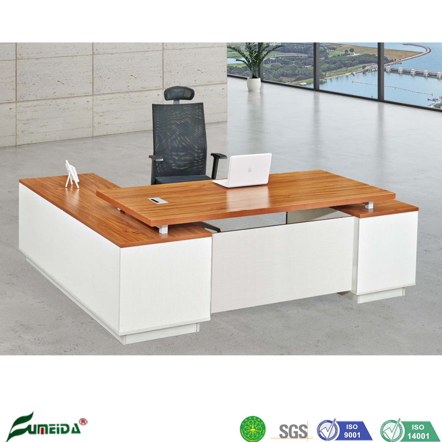 China Design Office Wooden Desk Furniture Work Executive Table For Saudi Arabia China Work Executive Table Office Wooden Desk