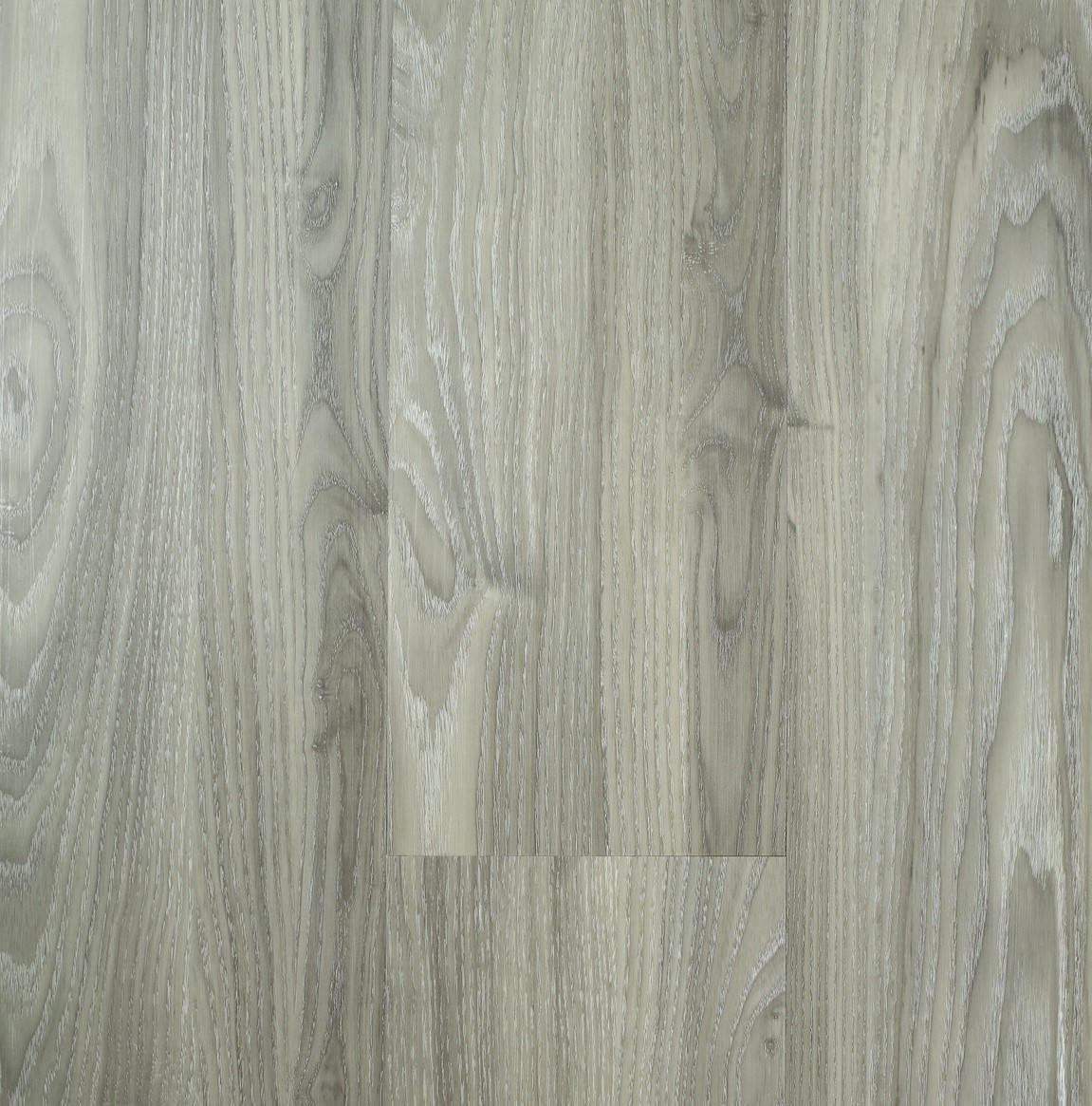 China Light Grey Wood Grain Vinyl Plank