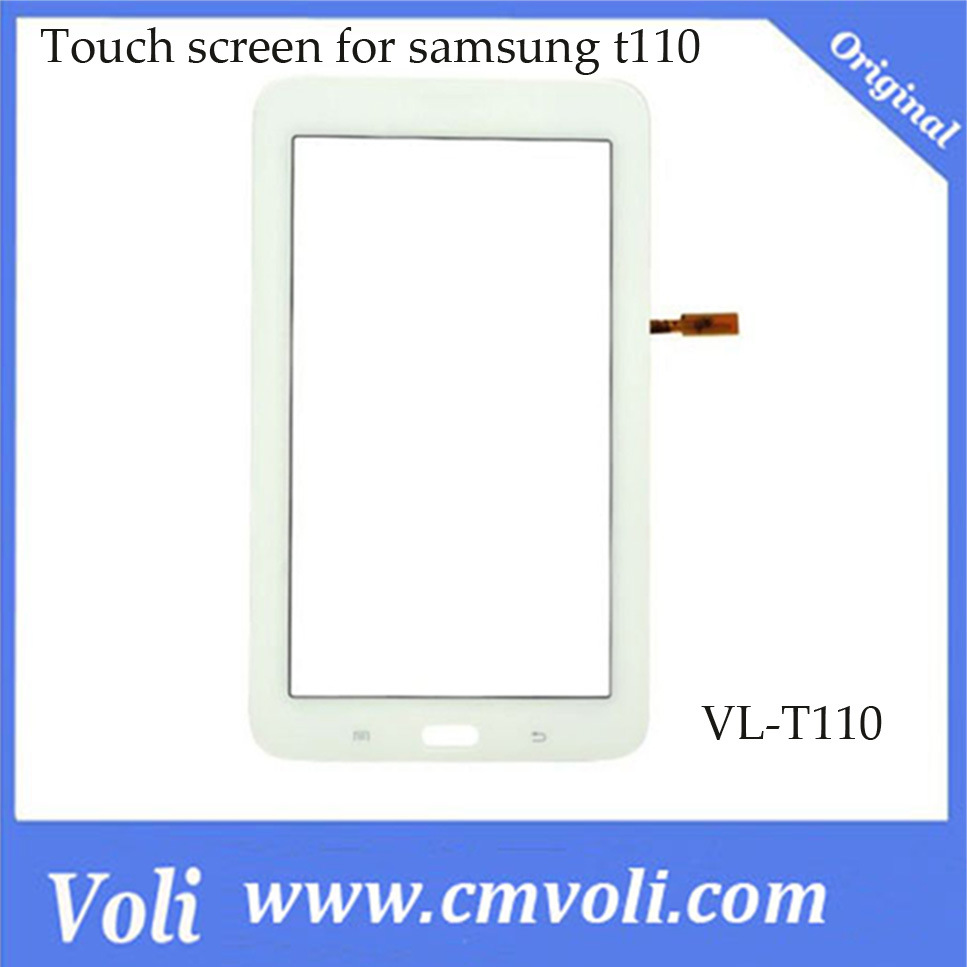 China Touch Screen Digitizer For Galaxy Tab 3 Lite 70 T111 T110 Samsung White