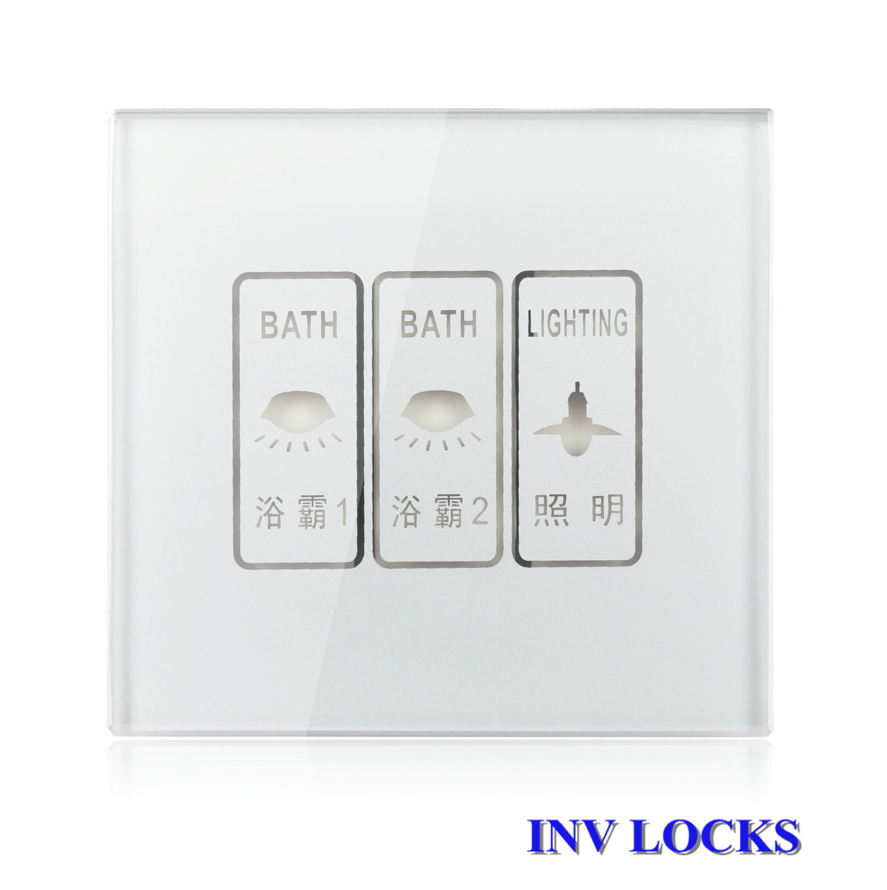 china luxury three touch light switch for home 19248