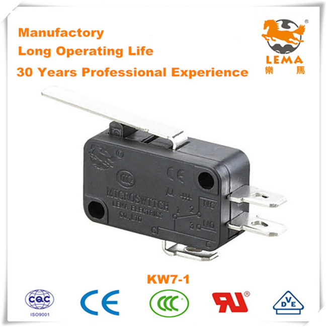 China Lema Kw-7-1 Three Quick Connect Terminals 4.8*0.8mm Micro ...