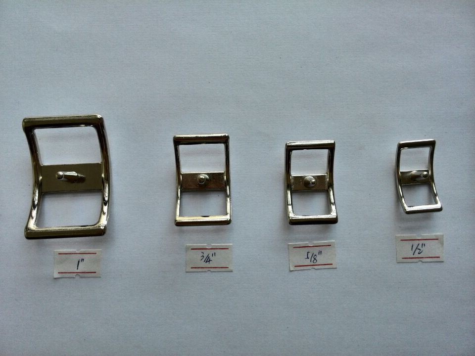 """Pack Of 5 1 1//2/"""" Stainless Steel End Bar Roller Buckles"""