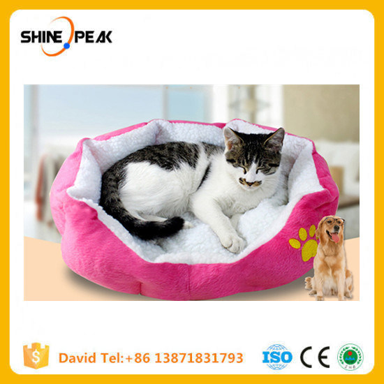 China 50 40cm Comfortable And Soft Cat Bed Mini House For Cat Pet
