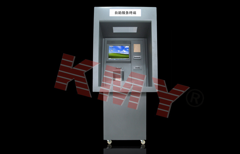 Customized Touch Screen Bill Acceptor Banking Kiosk