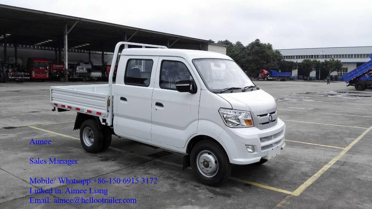 China Sinotruk 4x2 Mini Truck 2t Diesel Mini Cargo Truck China 4x2
