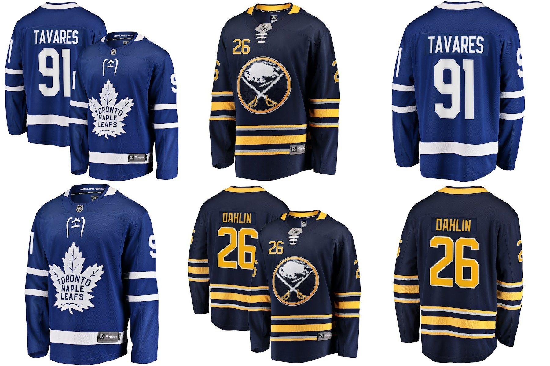 separation shoes 8cb67 81f9b [Hot Item] Toronto Maple Leafs John Tavares Buffalo Rasmus Dahlin Hockey  Jerseys