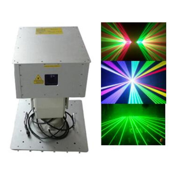 8W RGB Laser Light Use Outdoor Christmas