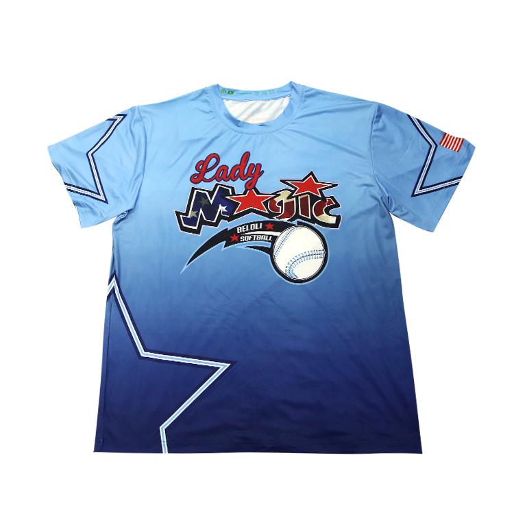 16602fb82 China Factory 100%Polyester Sublimation Printing Sport Wholesale Custom T  Shirts - China T-Shirt, T Shirts