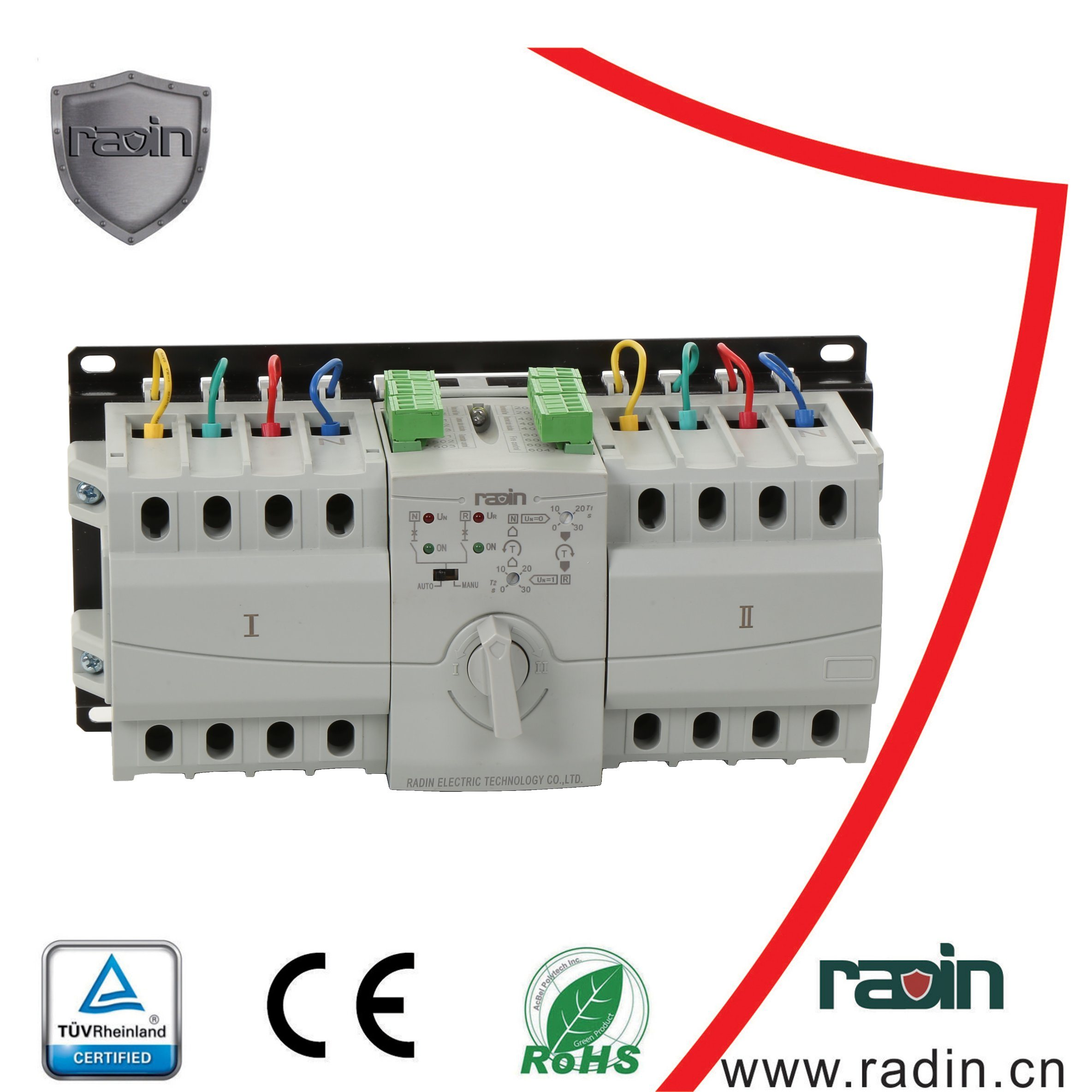 China Single Phase Automatic Changeover Switch Single Circuit ...