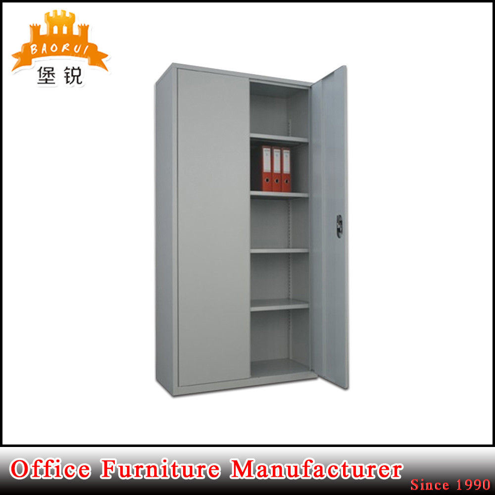 Hot Item 2 Door Steel Office File Cabinet With Four Adjule Shelves
